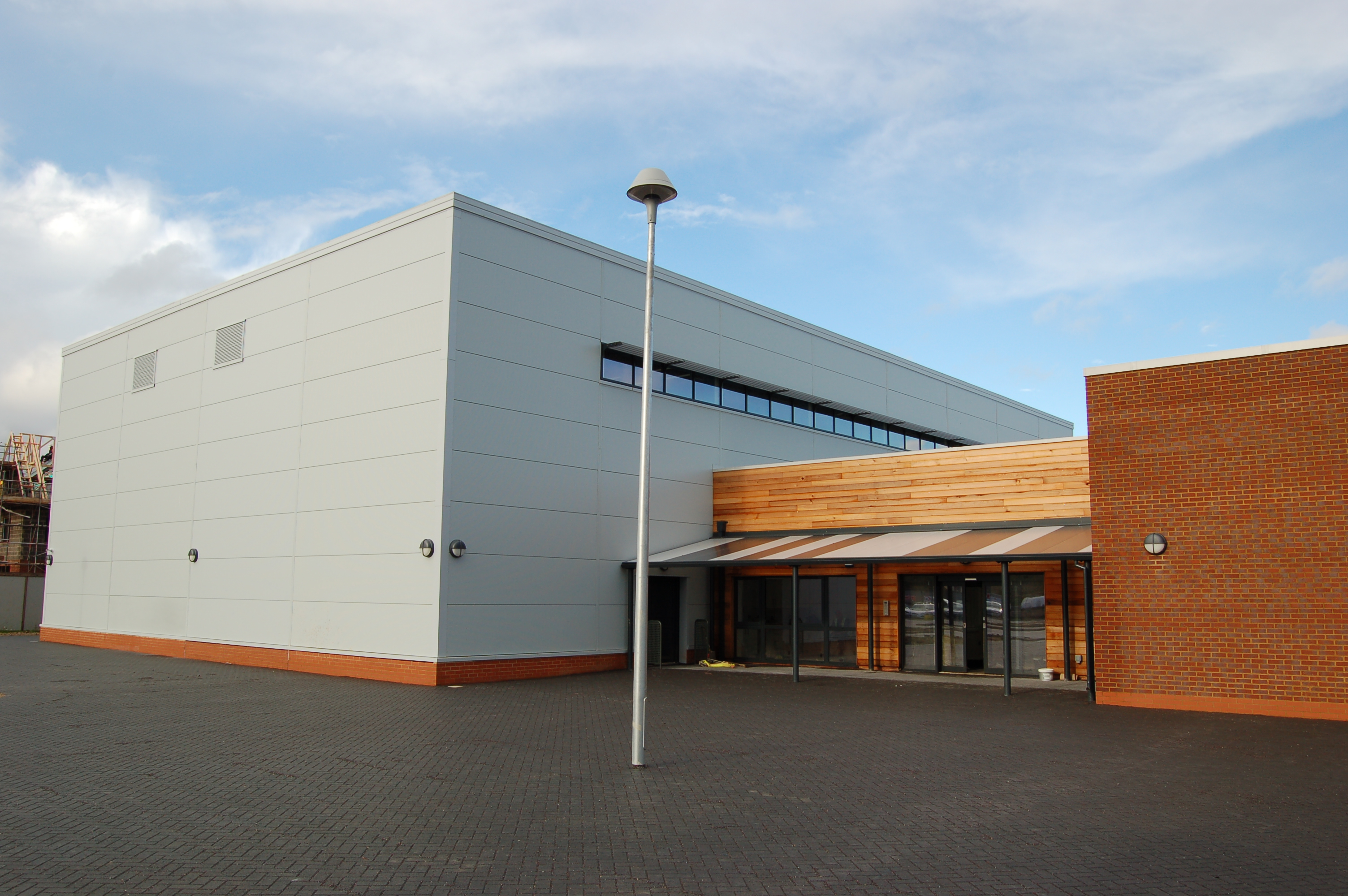 Sir Fredric Osbourn School Sports Hall Hardy Sherwood